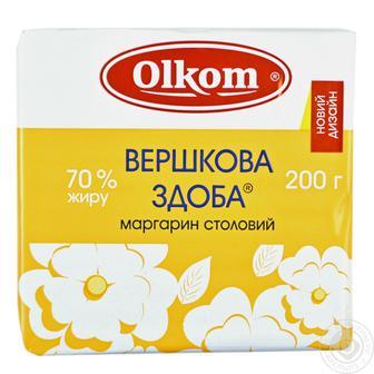 Маргарин 65% Вершкова здоба Олком 200 г