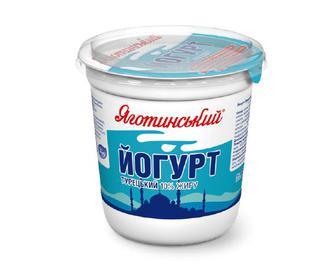 Йогурт «Яготинський» «Турецький» 10% жиру, 300г