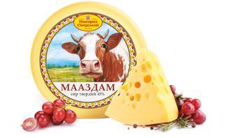 Сыр Мааздам 45% Новгород-Северсьский 100 г