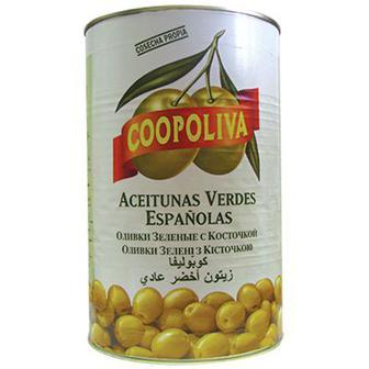 Оливки Кополива (Coopoliva) 370г