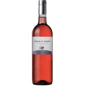 Вино сухе Argentiera Poggio ai Ginepri Rosato 0.75л