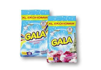 Засіб миючий синтетичний порошковий Французький аромат/ Морська свіжість, для кольорових речей, автомат, Gala 3,5 кг