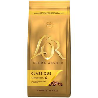 Кофе в зернах L'OR Crema Absolute Classic 500 г