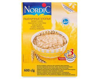 Пластівці пшеничні Nordic, 600г
