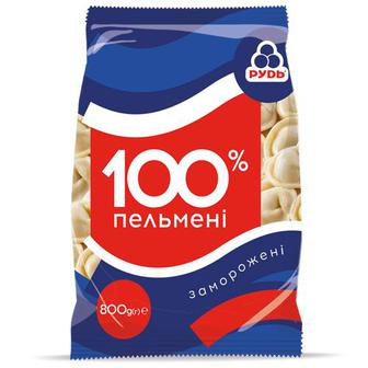 Пельмені 100% Рудь 800 г