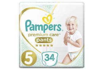 Підгузки-трусики Pampers Premium Care 31/34/38/48 в уп
