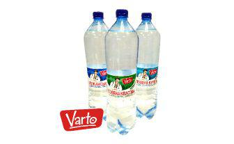 Вода мінеральна лікувальна столова сильногазована Варто, 1,5 л