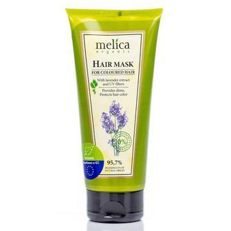 Маска Melica для окрашенных волос с экстрактом лаванды и УФ-фильтрами, 200 мл