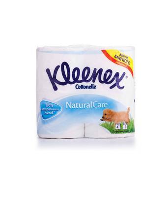Туалетная бумага Kleenex Cottonelle Natural Care 4 шт