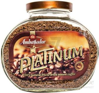 Кава розчинна Ambassador Platinum 190 г (8718868866875)