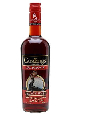 Ром Gosling`s Black Seal 151 Bermuda Rum 0.7л