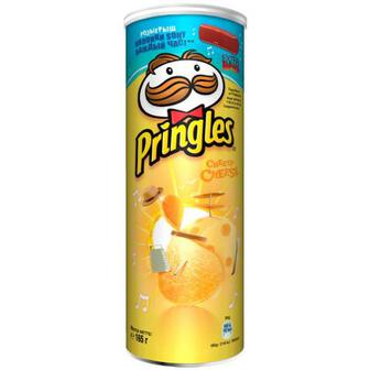Чіпси Pringles Cheesy Cheese 165г