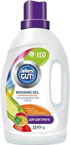 Гель для прання Alles GUT! для кольорової білизни1л