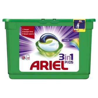 Гель для прання Color&Style Ariel 15 капсул