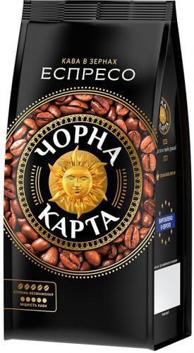 Кава в зернах Чорна Карта Espresso 900 г (8719325020809)