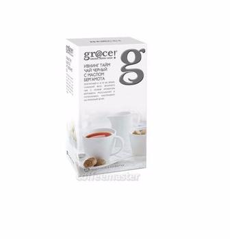 Чай Grace Evening time чорний з бергамотом 25 пак/Зелений  з маслом бергамоту 25 пак