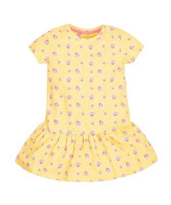 Жовта сукня у квіточку від Mothercare