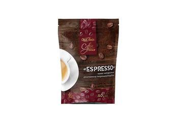 Кава Espresso натуральна розчинна порошкоподібна, Своя лінія 50 г