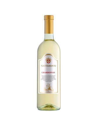 Вино Каберне Совіньон червоне сухе, Шардоне біле сухе, Мерло рожеве сухе Кастелмарко 0,75 л