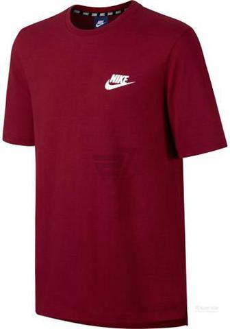 Футболка Nike M NSW AV15 TOP SS KNIT 837010-608 M червоний