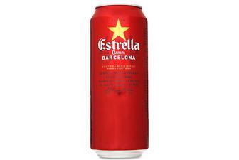 Пиво Estrella Damm Barcelona світле, 0,5л