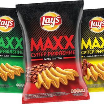 Чипсы Lays Max 120г